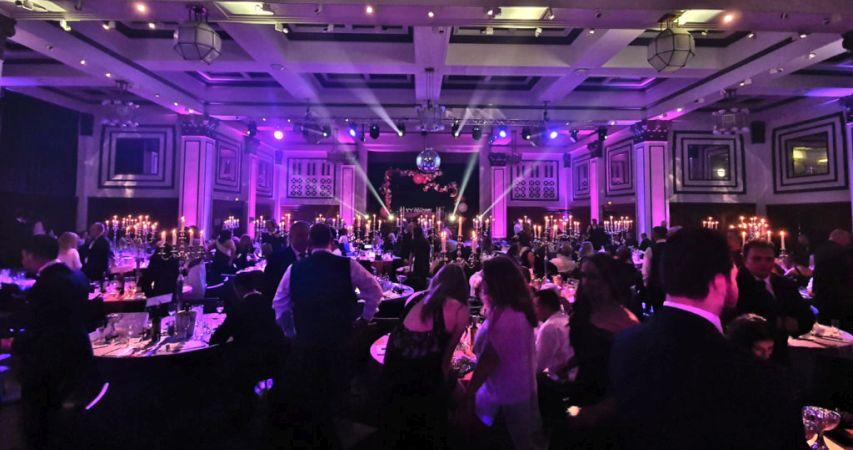 Awards Night lighting