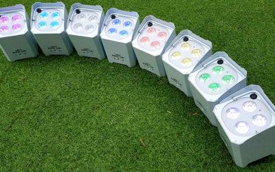 LED Battery Uplighters