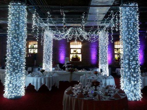 Ice white fairy lights