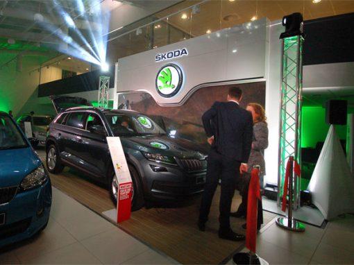 Skoda Launch Event - Lighting & Audio