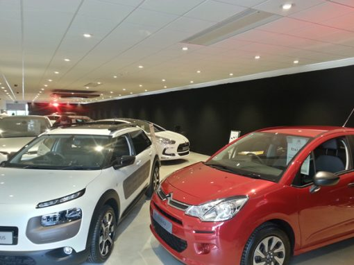 Citroen VIP Event - Black Out Draping