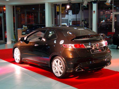 Honda Launch Event Lighting