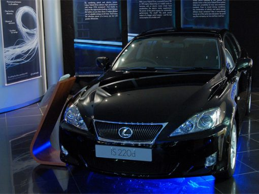 Lexus VIP Event - Lighting & Draping