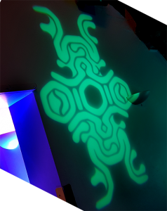 Custom Gobo Projection