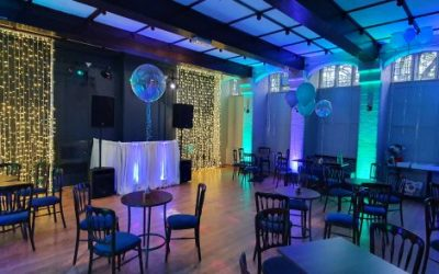 Lighting & PA Hire with DJ Booth